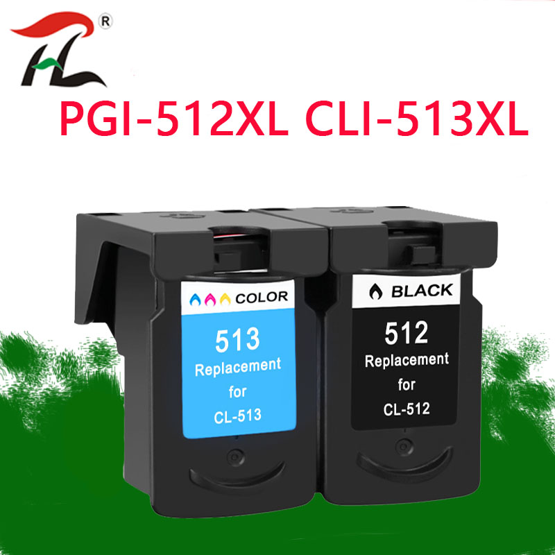 YLC Compatible PG512 CL513 for Canon pg 512 cl 513 ink cartridge for Pixma MP230 MP250 MP240 MP270 MP480 MX350 IP2700 printer-in Ink Cartridges from Computer & Office