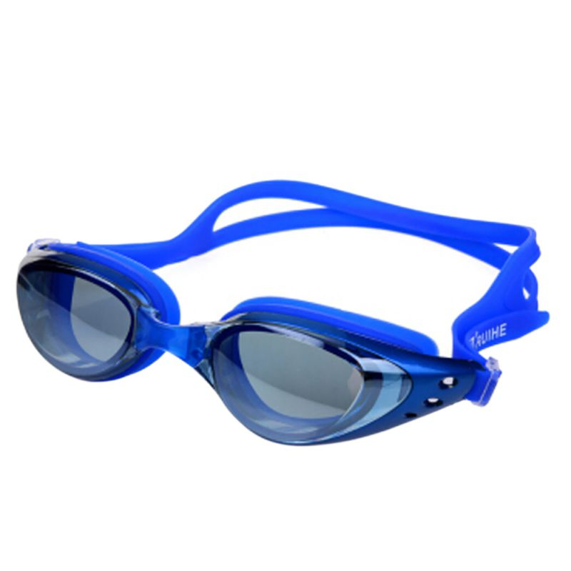 Waterproof Male Female Swim Goggles Glasses Swim Eyewear Men's Women's Adult Swimming Frame Pool Sport Eyeglasses Spectacles bowtie decor blue black plastic full rim spectacles glasses eyeglasses frame