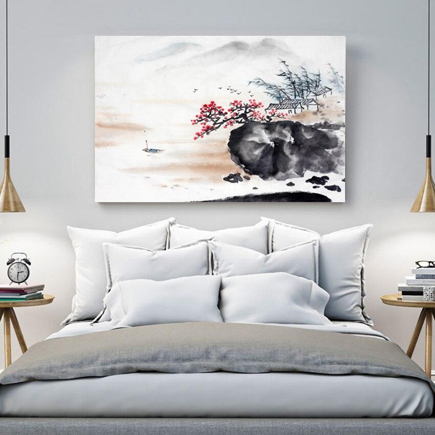 Китайська фарба живопису чорнилом - Домашній декор
