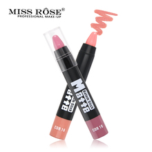 Miss Rose Brand Matte Lipstick Waterproof Long Lasting Makeup Lips Lipstick Easy to wear Moisturizer Nutritious miss rose matte lipstick waterproof nutritious easy to wear lipstick long lasting lips makeup