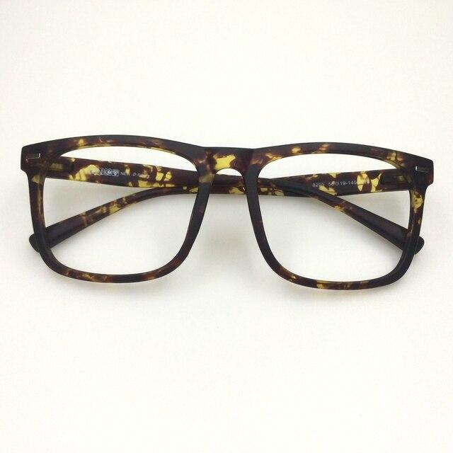 Big frame eyeglasses optical eyeware glasses TR90 flexible large ...