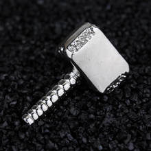 dongsheng Thor Quake 3 Arena Brooch Super Hero Hammer Brooches Pins Bijouterie Broches Punk Alloy Badge Pins For Men Women -40(China)