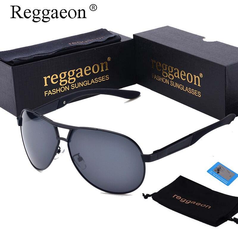 reggaeon hot Classic Pilot sunglasses for men metal polaroid polarized lens glasses mens fashion brand designer rays sunglasses