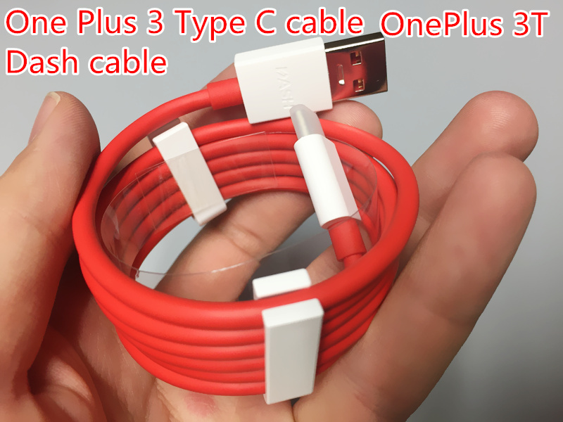 Original Oneplus 3 Cable USB 3.1 Type C Dash Charger Type-C s