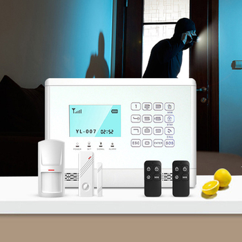 Wireless GSM Alarm System Home Security Inturder Alarm with 433MHz Door Sensors Motion Detector Alarm English/Russian Language yobang security wireless wifi gsm alarm system dual antenna alarm systems security home wireless signal support russian english