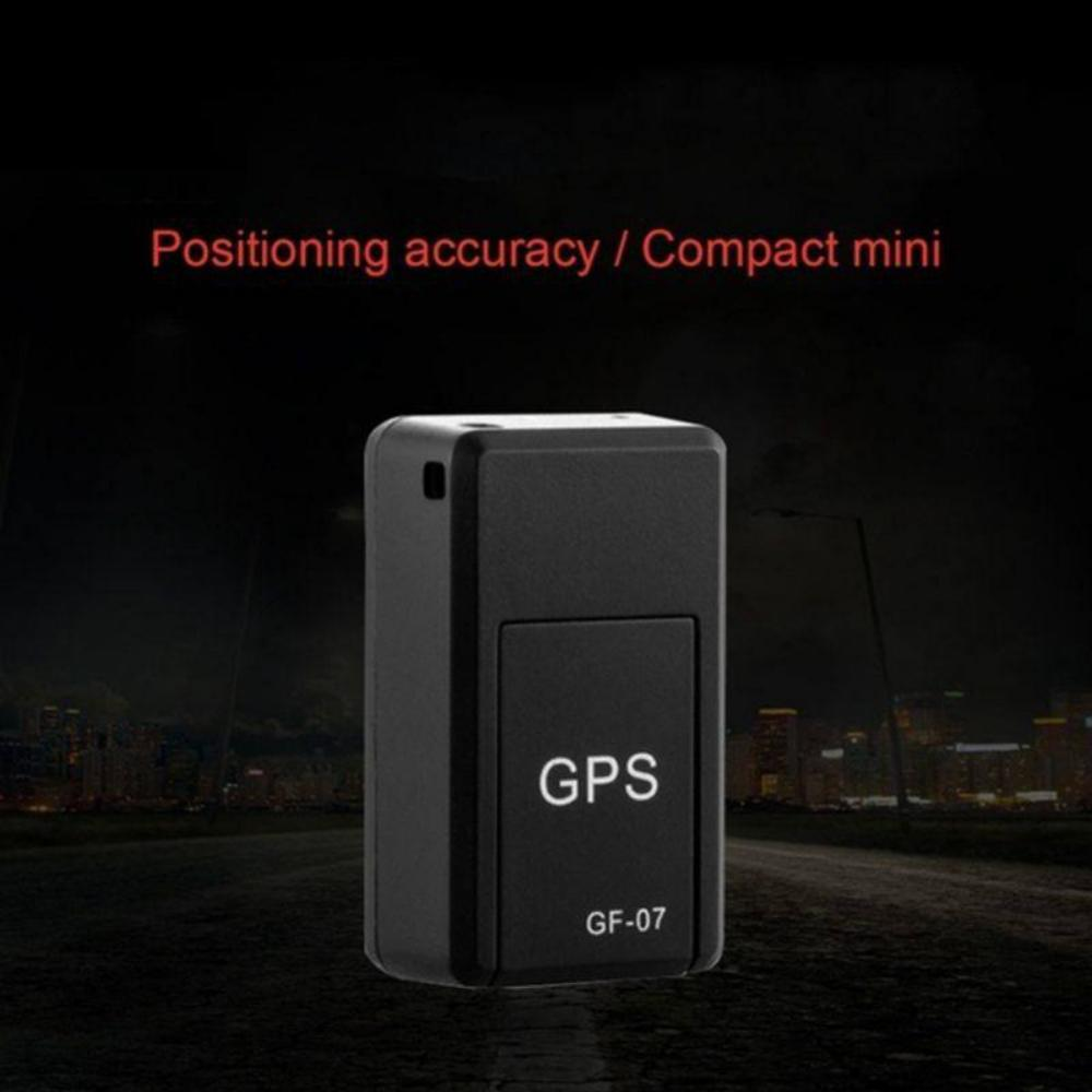 GF-07 GPS Tracker Vehicle Strong Magnetic Free Installation Mini GPS Tracking Locator Personal Tracking Object Anti Lost Tracer