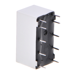 New Arrival 12V Coil Bistable Latching Relay DPDT 30VDC 2A 1A 125VAC HFD2/005-S-L2-D Realy