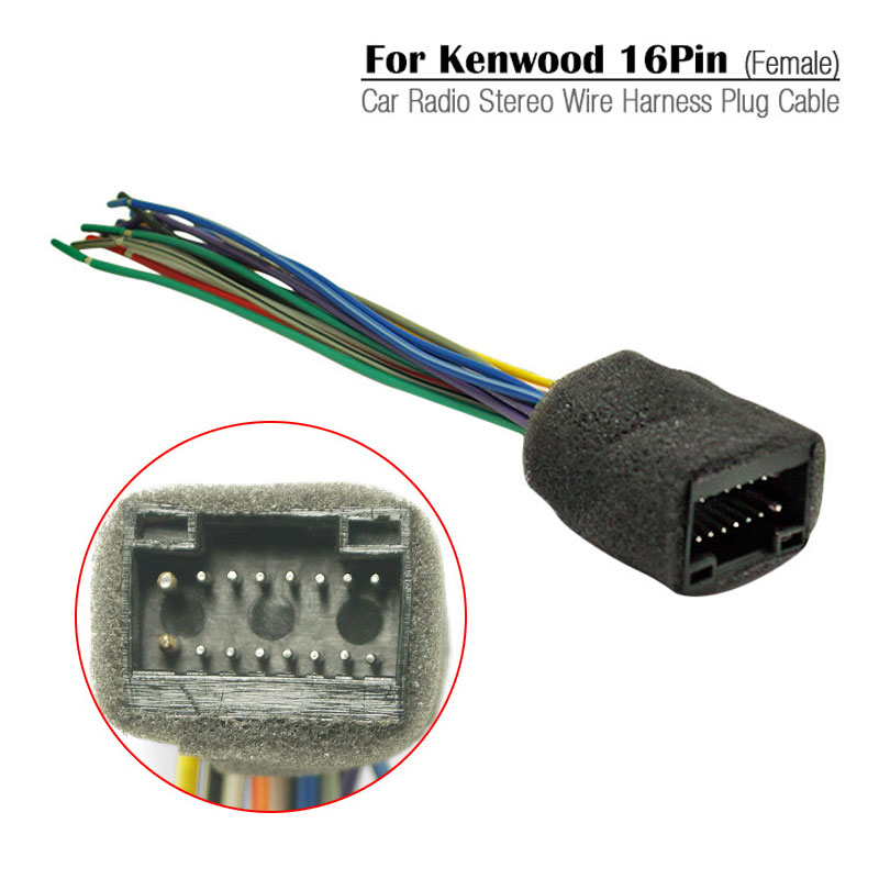 US $4.86 19% OFF|Car Radio Stereo Wire Harness Plug Cable For Chevrolet on