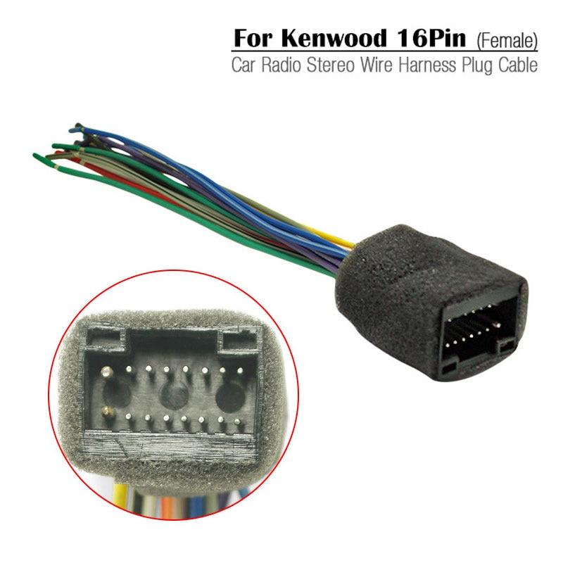 Car Radio Stereo Wire Harness Plug Cable For Chevrolet Aveo Lova