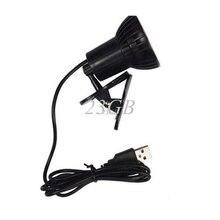 Super Bright 3 LED Port Clip On Spot USB Light Lamp For