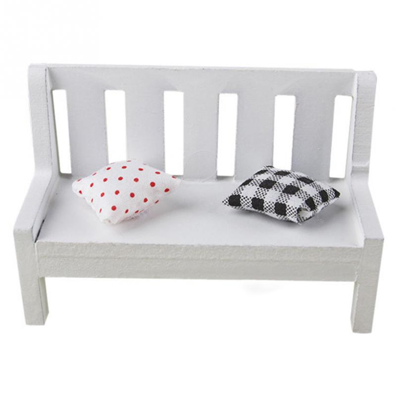 Cool Us 1 62 11 Off Modern Simple Miniature Wooden Bench Cushions Kid Dollhouse Home Garden Ornament Furniture Accessory 10 5 5 7 Cm In Furniture Short Links Chair Design For Home Short Linksinfo