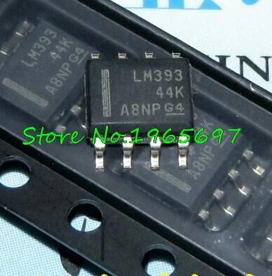 20pcs/lot LM393DR2G LM393DR LM393DT LM393 SOP-8 New Original In Stock