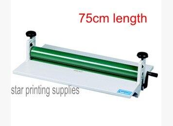 Manual cold roll laminator 750mm 28'' high quality professional manufacturer 750mm manual cold desktop cold laminator machine good quality