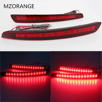 Newest LED Rear Bumper Reflector Brake Light Car Styling For Ford Mondeo Fusion 4 2011 2012