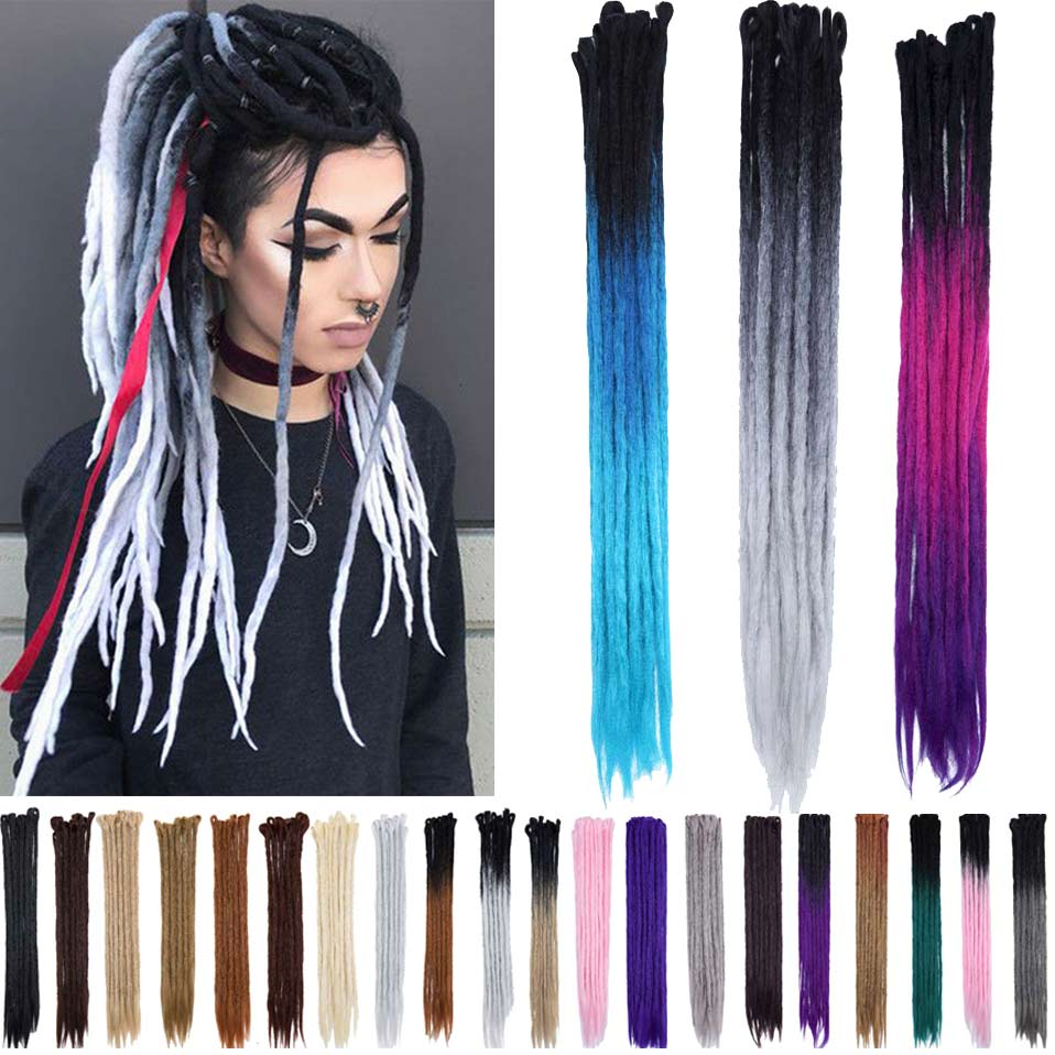 Hair Extensions & Wigs Jumbo Braids S-noilite 100g/pack 24inch Braiding Hair Ombre Two Tone Colored Jumbo Braids Hair Synthetic Hair For Dolls Crochet Hair Clear And Distinctive