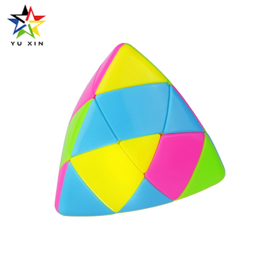 2018-yuxin-magic-puzzle-cube-pyramid-rice-dumpling-speed-magic-speed-cube-stickerless-educational-learning-toy-for-children