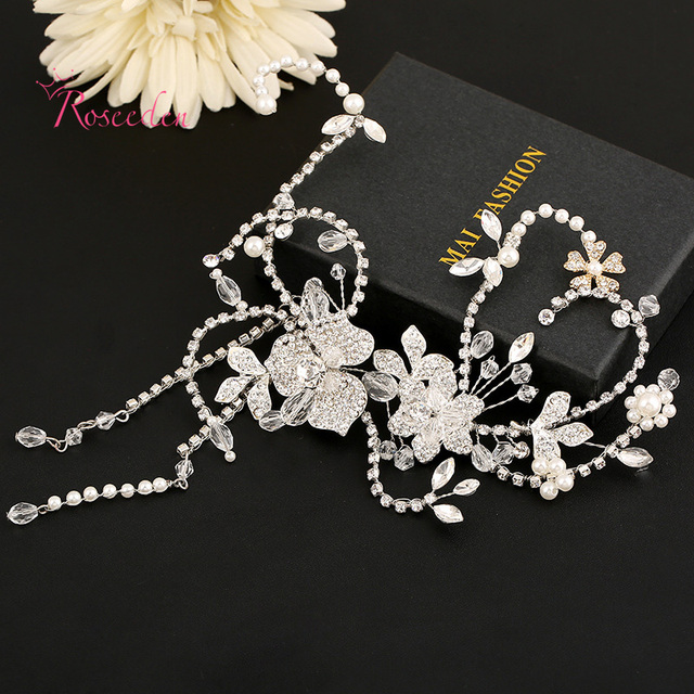 Creative Fashion Bridal Updo Hair Comb Handmade Full Drilling Simulated Diamond Wedding Hair Accessories Bridal Hair PinsRE282