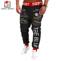 New Fashion Men S Pants Trousers Letter Printing Military Pants Male Compression Pant Casual Tactical Pant