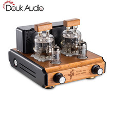 Douk de Audio Mini FU32 tubo de vacío amplificador HiFi Push-Pull AMPLIFICADOR DE POTENCIA ESTÉREO 6 W + 6 W