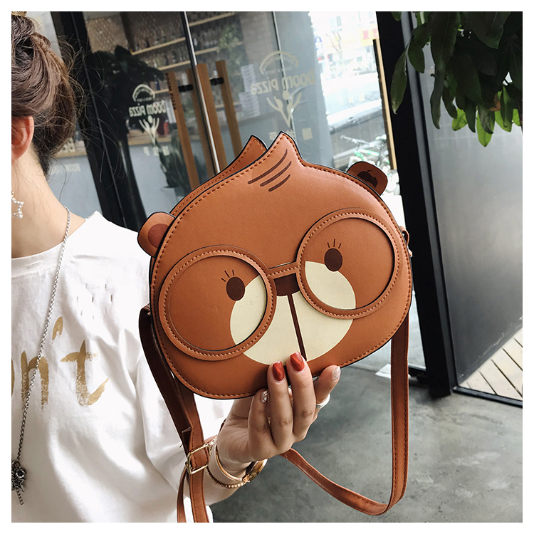 2019 New Women Cute Round Bag Fashion Woman Handbag Ladies Small Shoulder Crossbody Bags Pu Leather Female