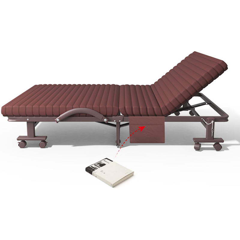 Portable Folding Bed  Nap Couch Recliner Chair Fishing Beach Cushion Cover Mattress Bed Laying Siesta Deck Chair