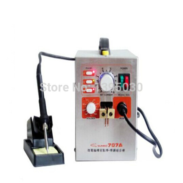 SUNKKO 707 Precision Pulse Spot Welder & Soldering Station High Power Spot Welder welder machine plasma cutter welder mask for welder machine