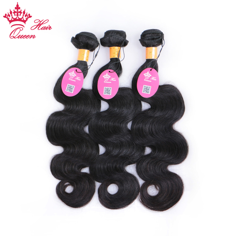 Queen Hair Products Indian Human Hair Body Wave 3 Bundles Deal 8-30 100% Remy Hair Weaves Free Fast Shipping No Tangle