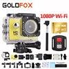 GOLDFOX Brand 1080P HD Wifi Sport Action Camera 170D Wide Angel Lens 30M Go Waterproof Pro