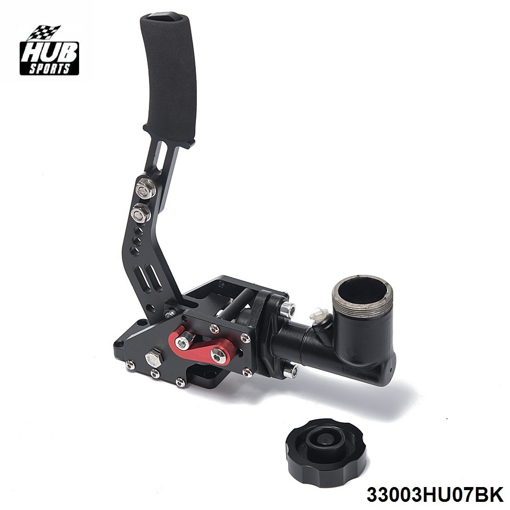 цена Black Hydraulic Racing Hand E Brake Drift Rally Handbrake Aluminium Lever Oil Tank Cylinder HU-33003HU07BK в интернет-магазинах