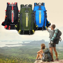 40L Large Capacity Waterproof Men Women Tactical Backpack Outdoor Camping Rain Cover Climbing Military Sports Bags