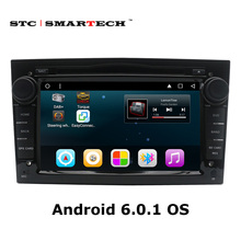 2 Din Android 6.0.1 Car DVD GPS Navigation Autoradio for Opel Astra H G J Antara VECTRA ZAFIRA Vauxhall with CAN-BUS WIFI OBD