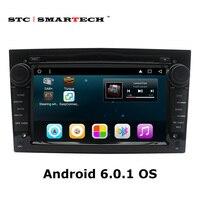 2 Din Android 6.0.1 Navigazione Dell'automobile DVD GPS Autoradio per Opel Astra H G J Antara VECTRA ZAFIRA Vauxhall con CAN-BUS WIFI OBD