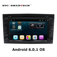 2 DIN Android 6.0.1 Car DVD GPS навигации Авторадио для Opel Astra H G J Antara Vectra Zafira VAUXHALL с может-bus WI-FI OBD