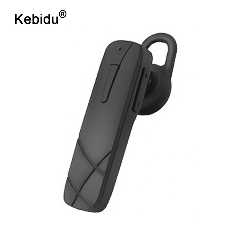 kebidu Business Wireless Bluetooth 4.0+EDR Headsets Handsfree Car In-Ear Earphones Headset with Microphone Stereo Earpiece