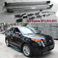 For For Ford Explorer 2013 2015 Car Running Boards Auto Side Step Bar Pedals New Flagship Product