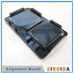 Image 1 - 38mm 42mm יישור עובש עובש עבור אפל שעון סדרת 5 2 3 4 S2 S3 LCD קדמי זכוכית פנל מסך OCA דבק סרט יישור עמדה