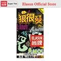 ELASUN 10 PCS Fiercely Love Condoms Random Packet Natural Colorless Transparent Latex Rubber Condom