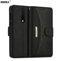 IDOOLS Phone Bags Case For Nokia 8 Cover Quality Picks Dirt Resistant Luxury PU Leather Coque