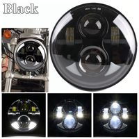 5 3/4 5.75inch Projector DRL LED Headlight Hi/Low Beam for Harley Softail Dyna Sportster Models,2013 2016 Breakout FXSB