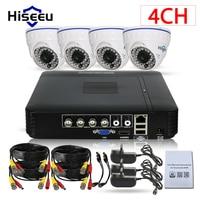 CCTV Camera DVR System AHD 720P Kits 2 3 4 Channel CCTV DVR HVR NVR 3