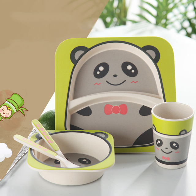 Animals Patterned Baby's Tableware