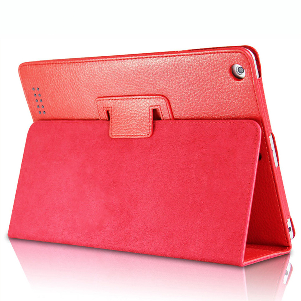 PU Leather For Apple iPad 2 3 4 Smart Case Magnetic Auto Wake Up Sleep Flip Cover With Stand Holder Folio Case