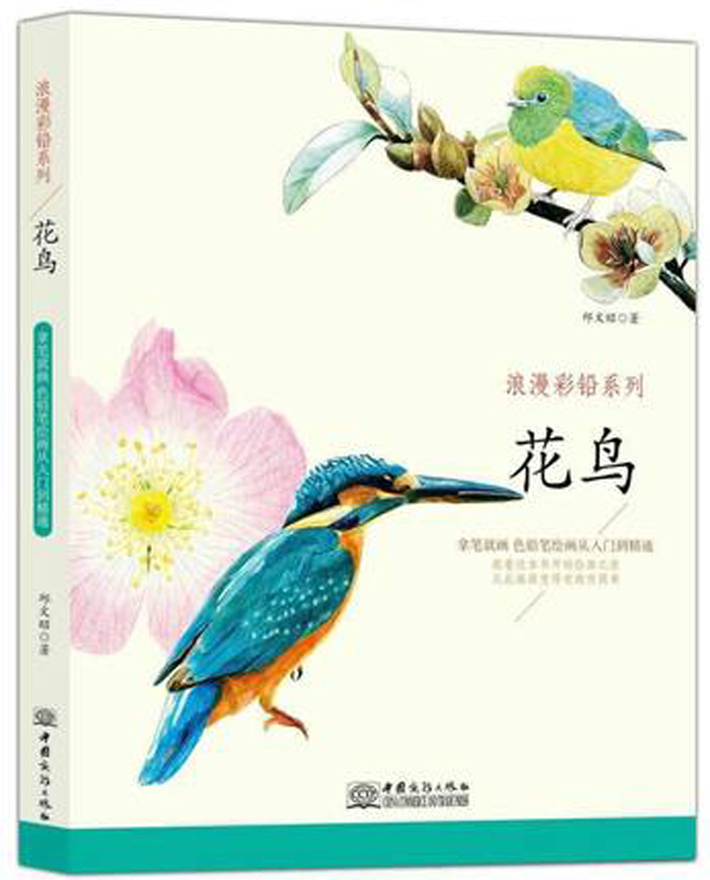 Chinese Color Pen Pencil Drawing book about Beautiful Flower and Birds / chinese art techniques Painting Coloring Book chinese pencil drawing book 38 kinds of flower painting watercolor color pencil textbook tutorial art book