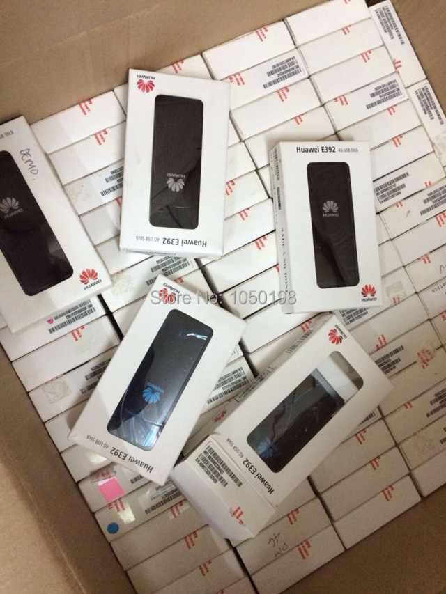 Unlocked Huawei E392u-12 4G LTE FDD USB Dongle Modem Mobile Broadband new sexy high cut backless bandage one piece swimsuit with skirt high neck patchwork swimwear striped blue beach bathing suits