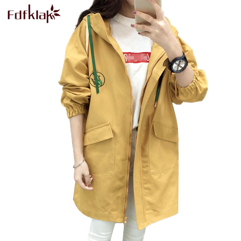 Fdfklak Large size casual clothes for pregnant women pregnancy jacket long maternity clothing woman trench coat female S-2XL цены онлайн