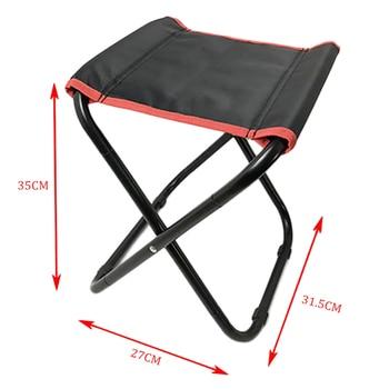 стул стул | Новый дизайн Ультра-легкий портативный складной из ткани Оксфорд стул для эскиза спорта на открытом воздухе Кемпинг путешествия стул рыбал...