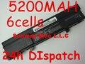 5200 MAH batería recargable para DELL XPS M1210 1210 CG039, CG036, HF674, NF343, 312-0435, 451-10356, 451-10357, 451-10370, 451-10371