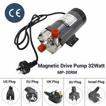 304 Stainless Steel Head  Magnetic Pump 32Watt MP-20RM Homebrew Beer and Wine Pump High Temperature Resisting 140C - DISCOUNT ITEM  30% OFF All Category