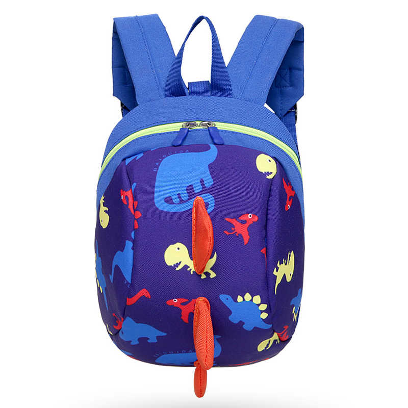 Ziranyu anti-perdido crianças sacos 3d mochila dos desenhos animados sacos de impressão animal crianças mochilas menino meninas kindergarden escola mochila