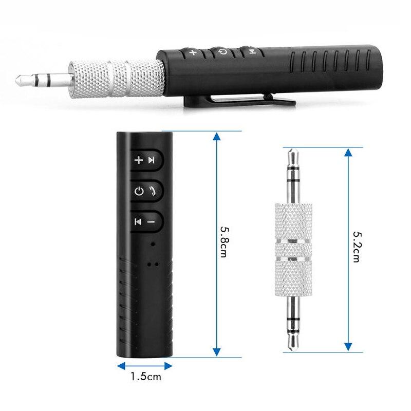 Unterhaltungselektronik Clever Drahtlose Bluetooth V4.1 Empfänger 3,5mm Aux Audio Stereo Musik Auto Empfänger-adapter Hands-free Car Kits Dongles Empfänger Seien Sie Freundlich Im Gebrauch Funkadapter